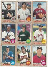 2017 Topps Heritage Minor League Master Set (300) Base + 20 SP + 3 Insert Sets