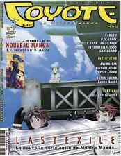 Revue COYOTE MAG numéro 7 MAGAZINE MANGA Yoko Player Okaz Juin 2003 Epuisé Rare
