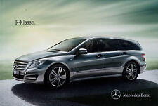 Prospekt Mercedes R-Klasse 22.7.11 Autoprospekt 2011 Broschüre R 500 350 300 CDI