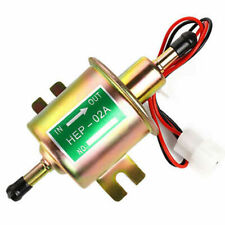 Universal Fuel Pump HEP-02A New Gold Electric Gas Diesel Inline Low Pressure 12V