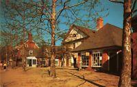 Postcard Duke of Gloucester Street Williamsburg Virginia