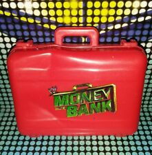 Red Money in the Bank Briefcase - Mattel Accessories for WWE Wrestling Figures