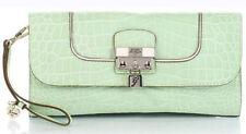 Guess Yorkshire flap clutch Mint, señora bolso señora-monedero clutch