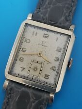 Vintage Omega Cal R17.8 Mens Tank Watch in Working condition