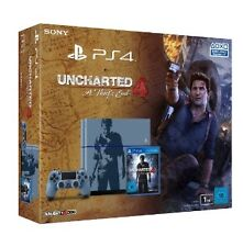 PlayStation 4 Slim 500GB + Uncharted 4: A Thief's End - 5.05 Firmware BOXED