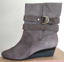 Circa Joan & David ladies' 100% Suede Boots, size USA 8.5 / UK 6-6.5