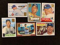 1996 Topps Baseball Yankees Great Mickey Mantle reprint set of 19