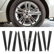 "Carbon Black Spoke Wheel Vinyl Decal Sticker 16"" 40pcs for HYUNDAI 2015-17 i45"