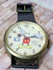 The Disney Channel Collectors Edition Mickey Mouse Giant Watch Wall Clock 38""