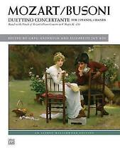 Duettino concertante: Based on the Finale of Mozart's Piano Concerto in F Major,