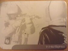 UFO: PRINTING PLATE: FRONT OF BASE CARD - IN HIS SIGHTS