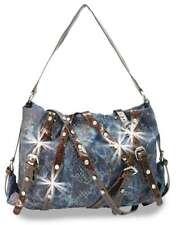 Rhinestone Motorcycle Fashion Handbag