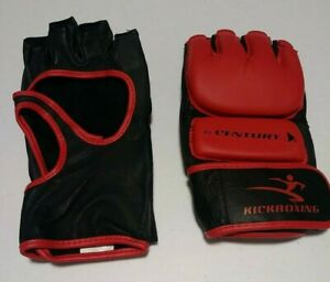 NEW! Century® MMA Kickboxing & Bag Gloves - Mixed Martial Arts - Red Black - UFC