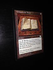 MTG MAGIC WEATHERLIGHT THRAN TOME (FRENCH GRIMOIRE DE THRAN) NM