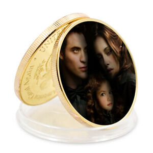 Birthday Gifts Robert Pattinson Famous Star Commemorative Gold Coin