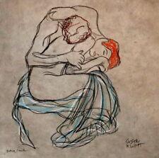 Gustav Klimt Liebespaar Studie Jugendstil Paar Nude Akt Liebe Gabriele Sauler