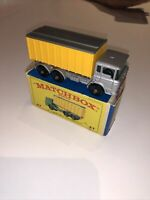 Matchbox Lesney No.47 DAF TIPPER CONTAINER TRUCK; Mint with box.