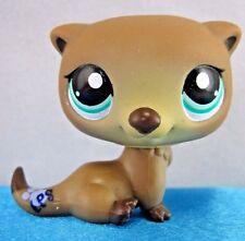 Littlest Pet Shop *LPS* RARE SPECIAL EDITION BROWN OTTER #1609 ~ GIFT BAG!
