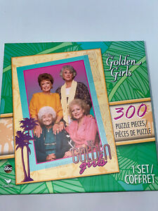 The Golden Girls 300 Piece Jigsaw Puzzle Rose Sophia Blanche Dorothy Cardinal