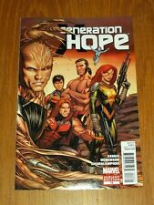 GENERATION HOPE #13 MARVEL COMICS VARIANT JANUARY 2012
