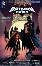 BATMAN & ROBIN VOL #3 DEATH OF THE FAMILY HARDCOVER DC Comics #15-17 Annual HC