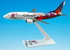 WESTERN PACIFIC AIRLINES COLORADO SPRINGS Boeing 737-300 DESK MODEL