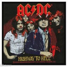 """AC/DC HIGHWAY TO HELL OFFICIAL PATCH 10 X 10cm(4"""" X 4"""")"""
