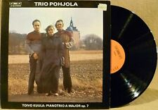 FINNISH Chamber Music BIS LP-56 TRIO POHJOLA Toivo Kuula Pianotrio A Major Op. 7