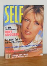 SELF Magazine May 1993 Best Fitness Vacations Sun Protection News Aids Sex Diet