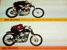 1967-1968 HARLEY-DAVIDSON SPORTSTER * FASTEST BIKE AT BONNEVILLE * cc/fork/tank