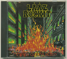 LAAZ ROCKIT City's Gonna Burn; 1988 CD; Original version on Steamhammer Records