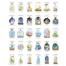 30pcs Vintage Postcard  Wishing Bottle Picture Greeting Card Post Cards Box Set