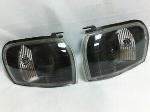 Corner Lights Black Position Lights Lamps for 1992-2000 SUBARU IMPREZA GC8/GF8
