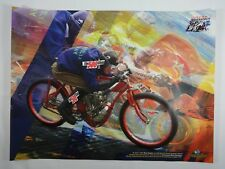 2008 Red Bull Indianapolis Moto GP Inaugural Poster Indy Superbike Racing Promo