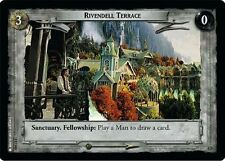 LoTR TCG FoTR Fellowship Of The Ring Rivendell Terrace FOIL 1U340