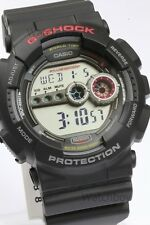 GD-100-1A Black Casio Watch G-Shock 200M WR Analog Digital X-Large Resin New