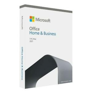 Microsoft Office 2021 Home and Business Word Excel PowerPoint Outlook