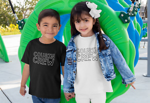 Cousin Crew Kids Toddler Baby Tshirt Family Relative Matching Best Friends Des2