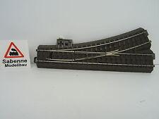 Märklin H0 24611 74490 74460 74445 Weiche links komplett aufgerüstet TOP C669