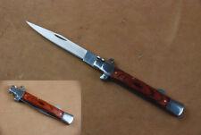 legales Taschenmesser Zweihand-Messer schlankes italo Stiletto Messer Design