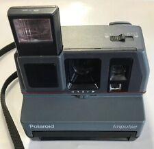 Polaroid 600 Impulse Camera Pop-up Automatic Flash Rubber Grips