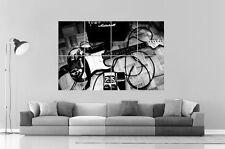 GUITARE SONO AMPLI  Wall Art Poster Grand format A0 Large Print