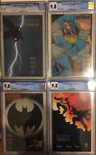 ALL CGC 9.8 Batman Dark Knight Returns 1-4 1st Prints FULL Set. Frank Miller 2 3