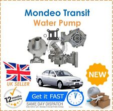 For Ford Mondeo MK3 Transit 2.0 DI TDCI Water Pump With Back Housing & Gasket