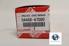 2011-2013 Toyota Prius OEM Rear Brake Pads 0446647080