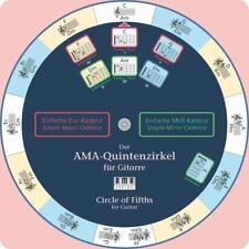 Der AMA-Quintenzirkel für Gitarre von Wolfgang Fiedler (2005, Gebundene Ausgabe)