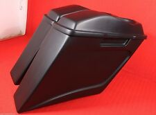 """Bagger 6"""" Stretched Extended Saddlebags w Lids 4 Touring Harley Softail Glide"""