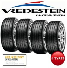4 x 225/45 R17 91Y Vredestein Ultrac Satin Car Tyres. 'A' Rated Wet Grip