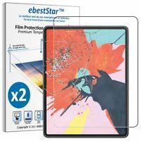 Packx2 Verre trempé Apple iPad Pro 12.9 2018 Film Protection Ecran anti casse