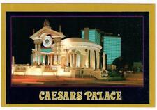 1990's Caesars Palace Hotel & Casino Las Vegas Nevada Night Postcard Vintage NOS